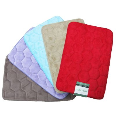 honey-comb-foam-microfiber-bathmat